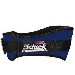 Schiek Sports, Inc. Original Nylon-Gürtel, Größe: XL (101,6-114 cm), Farbe: Marineblau