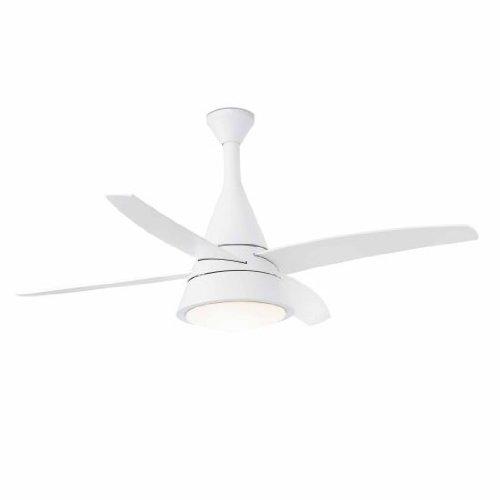Faro 33392 ventilatore per soffitto con luce, bianco