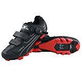Raiko Sportswear HPM1 MTB Schuhe schwarz klick Pedale SPD Cleats Größe 45