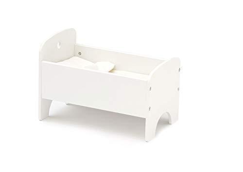 Kids Concept- Camita 40x24x27 cm (Incluye Ropa de Cama) bebé Muñecas y Accesorios Unisex, Multicolor (1000433)