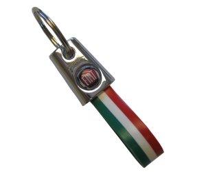 fiat-genuine-oem-46004500-keyring-italian-colours