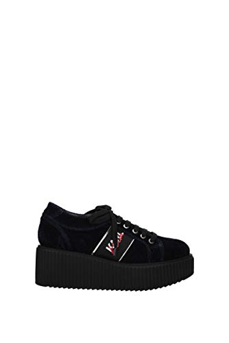 Karl Lagerfeld Sneakers kaia lace Damen - Samt (KL92420LAA) 40 EU