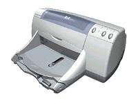 HP Deskjet 959c - Printer - colour - ink-jet - Legal, A4 - 600 dpi x 600 dpi - up to 11 ppm - capacity: 100 sheets - parallel, USB - AC 230V