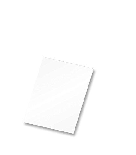 FLIPSIDE Produkte 10800Schaumstoff Board, 20,3x 25,4cm weiß (25Stück)