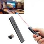 PR-20 Wireless Presenter PowerPoint PPT Clicker Presentation Remote Control Pen Laser Pointer Flip Pen