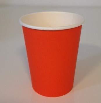 50 gobelets carton orange 20 cl