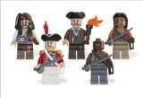 LEGO Piratas Del Caribe: Batalla Pack: Jack Sparrow, Scrum, Lieutenant Theodore Grove, 2 Zombie...
