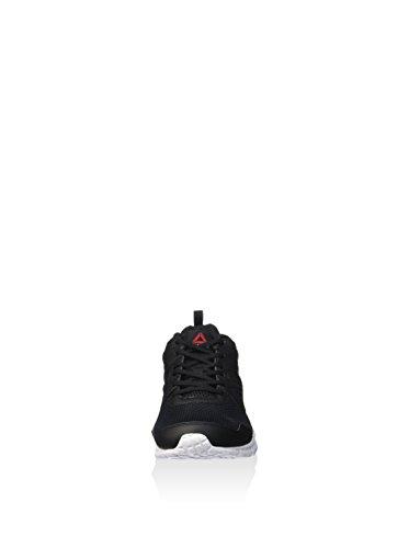 Reebok Run Supreme 2.0, Chaussures de Running Entrainement Homme, Noir Noir (noir / charbon / blanc)