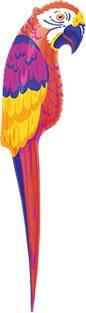 Perroquet De Decoration Gonflable Tropical Luau 1 16m