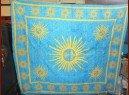 int-dailleurs-hangende-turkis-und-gelb-gesprenkelt-sun-tent158