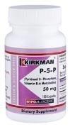 P-5-P / P5P (Pyridoxal 5-Phosphate, Vitamin B-6 Metabolite) 50mg - Hypoallergenic - (100 count) - Kirkman Laboratories Test