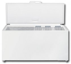 Liebherr GT6122 Freestanding 572 litre Comfort Chest Freezer White with SuperFrost FrostProtect and StopFrost System, Electronic Control System, 165cm Width