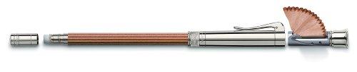 Faber-Castell Platinum - Lapicero (acabado con platino), color marrón