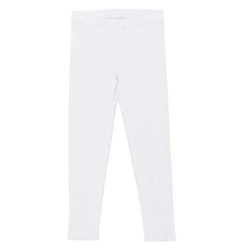 Celodoro - Leggings algodón niños Blanco - 134/140