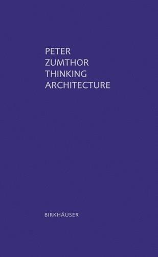 Thinking Architecture