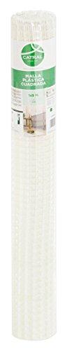 Catral 52010018 Rouleau de Maille carrée, Blanc 0,2 x 500 x 100 cm