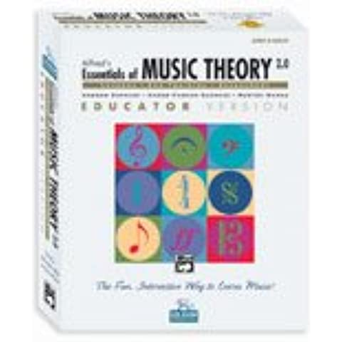 Alfred's Essentials of Music Theory Software, Version 2.0, Vol 2 & 3: Lab Pack for 30 Computers (1 Educator, 29 Students) ($30 for Each Additional Use