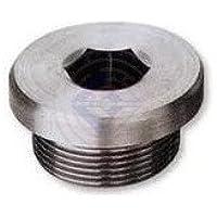 Feingewinde Verschlussschraube mit Bund und Innensechskant DIN 908 M14 x 1,5-A2 Edelstahl rostfrei