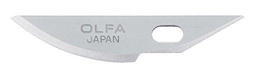 5 Stück Gebogen (Olfa kb4-r/5Carving Art Messer Gebogene Klinge (5Stück))