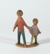Gelenberg-Krippe Kinderpaar - Grösse/Maßstab: 18 cm