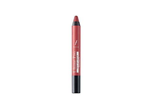 Faces Ultime Pro Matte Lip Crayon, Divine Rose 14, 2.8g (Free Sharpener)