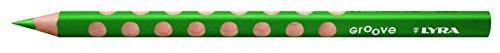 LYRA Groove Kartonetui mit 12 Farbstiften, wiesengrün