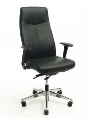 Rovo Chair Bürostuhl / Chefsessel ROVO XL Echtleder schwarz