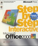 Microsoft Office 2000 Step by Step Interactive, 1 CD-ROM Interactive Self-Paced Simulation and Live-Application Training. Runs under Windows 95/98/NT Workstation 4.0 w. Internet Explorer 4.0