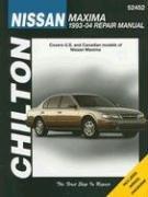 nissan-maxima-repair-manual-chiltons-total-car-care-repair-manuals