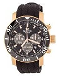 TW Steel Herren-Armbanduhr XL Diver Chronograph Quarz Kautschuk TW-703