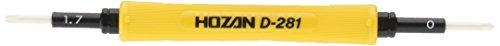 Hozan D-281 2-way Ceramic Screwdriver by HOZAN -