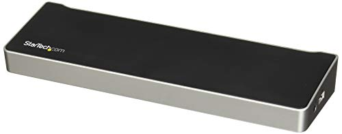 StarTech.com Triple-Video Laptop Dockingstation - USB 3.0 - Universal USB 3.0 Notebook Docking Station - 3 Video Ausgänge