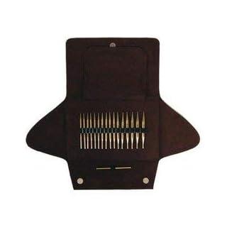 ADDI 750-7 Click Nadelspitzen Metall Lace Short Tips Set