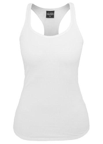 Urban Classics Ladies Jersey Tank Top, white, M