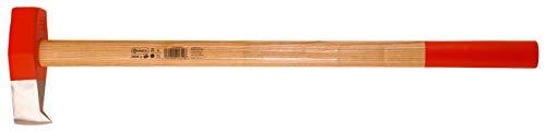 Connex Spalthammer - 3000 g Kopfgewicht - Robuster Stiel aus Eschenholz - Ideale Kraftübertragung - Kopf 3-fach verkeilt - Mit Wendenase / Spaltaxt / Schlagwerkzeug / Holzspalter / COX844030