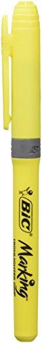 Bic 948739 - Rotulador fluorescente, color amarillo