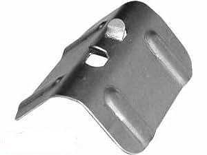Plaque d'angle en acier