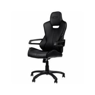 Nitro conceptos nc-e200r-b-uk E200Carrera Series Gaming silla negro–> juego de juego (accesorios)