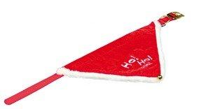 Collier bandana de Noel «Ho Ho Ho» pour Chat/Chien (37-47cm/20mm)