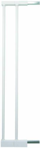Baby Dan, Set di prolunghe per ghiera protettiva con montaggio a pressione, Bianco (Weiss), 2 x 7 cm