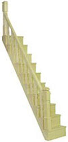 Melody Jane Puppenhaus Bastler Bauholz Miniatur Einfache Treppe Geländer Kit Treppe