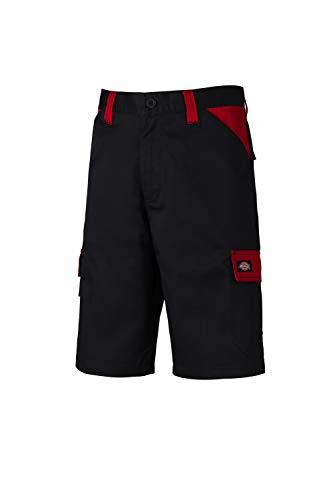 Dickies Arbeit Hosen Für Männer (Dickies Workwear Herren Shorts Short Everyday Mehrfarbig Black/Red DE 56 (UK 40))