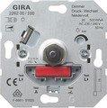 Gira NV-Dimmer-Einsatz mit Druck-Wechselschalter, 20-500VA, 0226200 von Gira bei Lampenhans.de