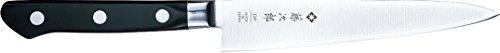 Tojiro Messer - japanische 3 Lagen Messer 3HQ - Allzweckmesser bzw. Universalmesser PROFI - Klinge 15 cm - Edelstahlzwinge - 802