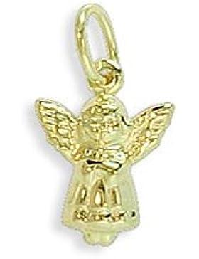 Schutzengel Christkind Anhänger echt 585 Gold 14 Karat (047)