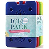 Best Lunch Box Freezer Packs - blue ele ice Pack for Lunch Box, Freezer Review