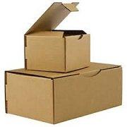 1 Verpackungseinheit (50 Stück) braune Postkartons<br/>L 200 mm x B 200 mm x H 100 mm<br/>Qualität: 1.10<br/>portooptimiert für Bücher-/Warensendung