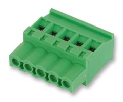TERMINAL BLOCK, PLUGGABLE, 8POS, 12AWG 1792812 By PHOENIX CONTACT -