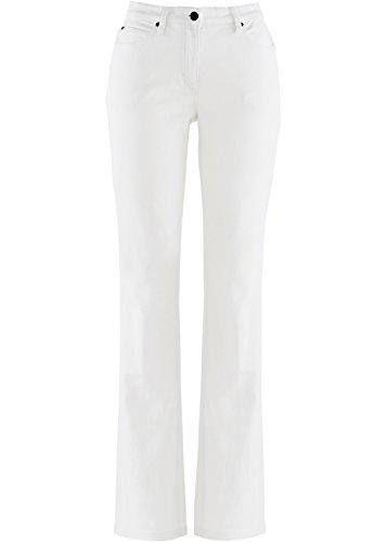 Stretch-Jeans Straight-Fit, weiß twill, Kurzgröße, Jeans, Damenjeans (50) (Jeans Twill Fit)