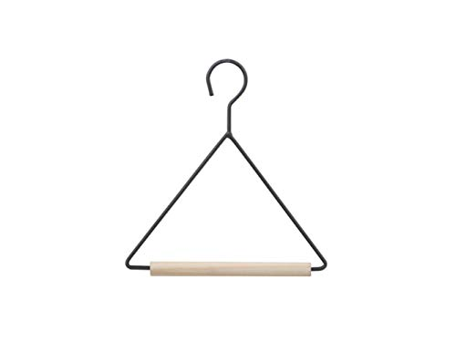 Huihuger clothes hanger appendiabiti per bambini in legno a triangolo semplice appendiabiti per bambino (come mostrato)